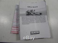 SATA SAT210765 SATAjet 5000 B HVLP Standard Gun (1.3 with RPS Cups)