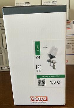 SATA X5500 HVLP 1.3 O Noz. Spray Gun WithRPS Cups