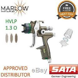 SATA jet X 5500 HVLP Digital 1.3mm Gravity Spray Gun O Nozzle Basecoat 1062124