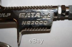 SATAjet Lackierpistole NR2000 HVLP 1,5 JET 2000 mit Fließbecher 0,6 l / SATA