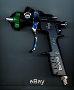 SPRAY GUN HVLP HIGH VOLUME LOW PRESSURE SPRAY GUN 1.4MM NOZZLE AST HT104 ITAly