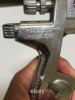 Sata Jet 4000 B HVLP Digital Spray Paint Gun. Used. Ex Government Supply