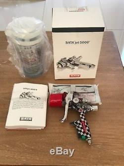 Sata Jet 5000 b hvlp 1,3 Axalta Edition New in box Spraygun