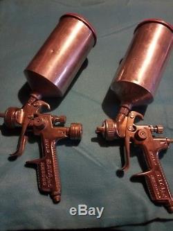 Sata Jet NR2000 HVLP spray guns With Adam air pressure monitor