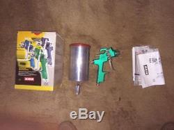 Sata KLC HVLP 1.7 spray gun complete with Satajet spray gun cup BRAND NEW