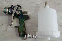 Sata Satajet NR 2000 1.3 HVLP limited ed spraygun with a brand new spray gun cup