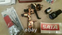 Sata jet 4000 B hvlp spray gun, special edition camo, 1.3 head. Brand new withreg