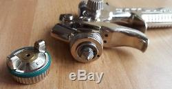 Sata minijet HVLP / 3 sata mini jet 0.8 spray gun with sata spraygun cup / pot