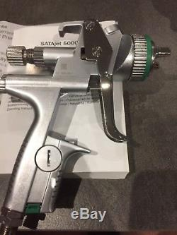 Satajet 5000 B 1.3 HVLP digital spray gun with sata spraygun pot / cup boxed