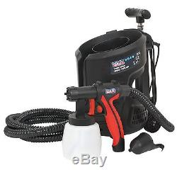 Sealey HVLP 700W Electric Motor Paint Spray Gun Kit 800ml HVLP3000