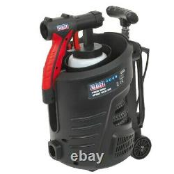 Sealey Spray Gun Kit Oil Water or Based Paint Stains Interior Exterior HVLP3000