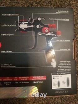 Spectrum Black Widow Hvlp Professional Spray Gun BW-HVLP-1.7 56152 NEW