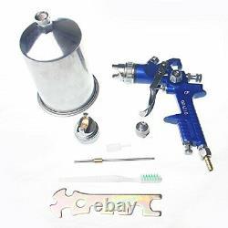 Spray Gun HVLP High Volume Low Pressure Gun 1.8+2.5mm Nozzles