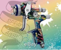 Spray gun SATA 5000 HVLP Sailor special edition limited 1.3 mm DIGITAL spraygun