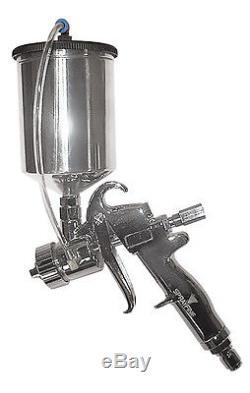 Sprayfine all metal HVLP turbine gravity spray gun withcup