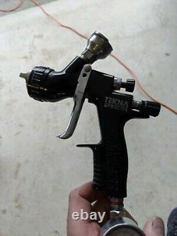 TEKNA ProLite TE20 HVLP Spray Gun, Uncupped, 1.4 New PPS adapter