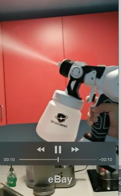 The Disinfectant Multi Function Spray Gun Eze Electronics Cordledd 2 battery