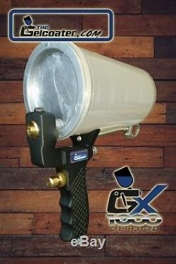 The Gelcoater GX1000 Gelcoat & Resin Spray Gun with 4mm Nozzle & FREE SEAL KIT