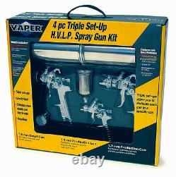 Titan 19220 4pc HVLP Spray Gun Kit