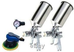 Titan 4 Piece Hvlp Dual Set-up Spray Gun Kit 19223