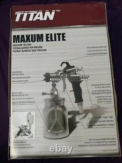 Titan Capspray 0524027 Maxum Elite HVLP Spray Gun