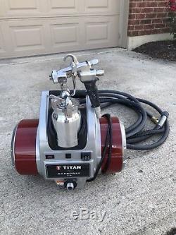 Titan Capspray 115 HVLP Fine finish Spray System + Titan MAXUM II Gun