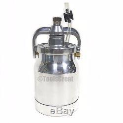 Titan Capspray HVLP Maxum Pressure-Fed Gravity Spray Gun Cup & Lid 0277183