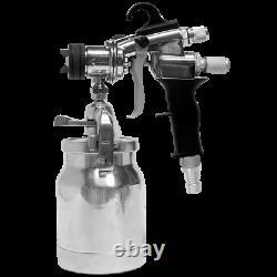 Titan Maxum Elite Gun 11 psi Stainless Steel HVLP Spray Tool (0524041)