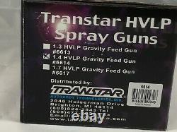 Transtar HVLP Spray Guns 6614 there is only one spray gun per box