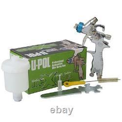 U-Pol Gravity Mini Spray Gun 1.0 Fine Repair Car Paint Primer Topcoat + Cup UPol