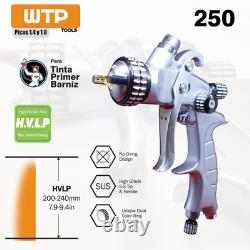 WTP 250 1.4/1.8 HVLP Profesional Spray Gun Clear/Color/Primer