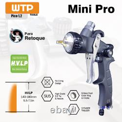 WTP MINI PRO 1.2 HVLP Profesional Spray Gun Clear/Color and Small Surfaces