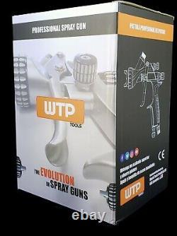 WTP PRO 1.3 HVLP/MP Profesional Spray Gun Clear/Color