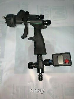 Walcom Carbonio HVLP Base 1.2 tip with digital gauge, regulator, repair kit, etc