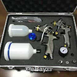 Weta HVLP spray paint gun 931g+mini 931g 1.3mm+1.0mm Airbrush spray gun for pain