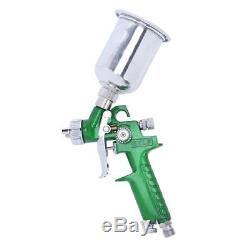 3 Hvlp Peinture Air Pistolet Kit Détail Couche De Base Apprêt Auto Voiture Couche Avec Cas Us