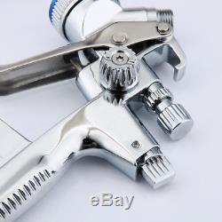 4000b Air Spray Auto Voiture Outils Kit Argent Gravité Hvlp 1.3mm Buse Pistolet À Peinture