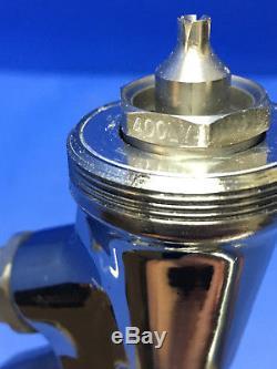 Anest Iwata Chrome Pistolet Modèle Lph-400 Avec Lph-400-lv4 Hvlp 1.3 Pointe