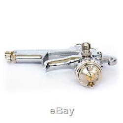 Anest Iwata Pistolet Pulvérisateur W-101 Alimenté Par Gravité 1.0 / 1.3 / 1.5 / 1.8 Hvlp