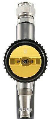 Apollo Atomizer 7700 Spray Gun Pour Turbines Hvlp Avec 90cc Gravity Cup Assembly