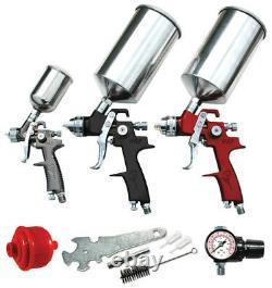 Atd Hvlp Automotive Spray Paint Gun Set # 6900