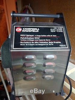 Campbell Hausfeld System Professionnel De Pulvérisation Hvlp 4 Etages, Pistolet A Turbine
