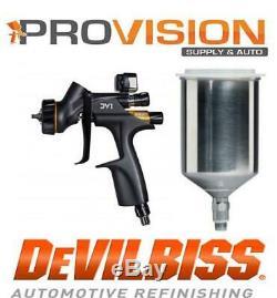 Devilbiss 704520 Dv1-b Verni Gravity Numérique Fed 1.2,1.3,1.4 Hvlp (coupe De Métal)
