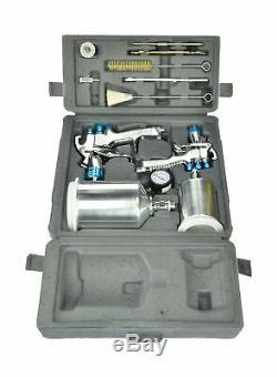 Devilbiss 802342 Startingline Hvlp Gravité Pistolet Kit 8 Tip Auto Peinture Nouveau