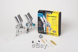 Devilbiss 802343 Ligne De Départ Auto Paint & Primer Hvlp Spray Gun Kit