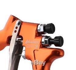 Devilbiss Advance Hd-2 Hvlp Pistolet De Pulvérisation Professionnel Et Tasse Gravity Feed 1.3mm