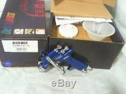 Devilbiss Comm-hs1-10 Compact Mini Hvlp Pistolet Neuf Dans La Boîte