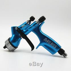 Devilbiss DV 1 Hvlp Blue Car Paint Outil Pistolet Pistolet Fabriqué En Chine Nouveau