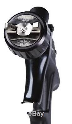 Devilbiss Dv1-c + Verni Hvlp Plus Alimentation Par Gravité Vaporiser 1.3mm Gun