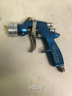 Devilbiss Finishline Flg-4 Hvlp Apprêt Pistolet Utilisé Livraison Gratuite Bleu